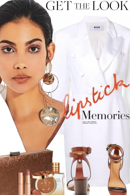 Lipstick Memories- Kreacja
