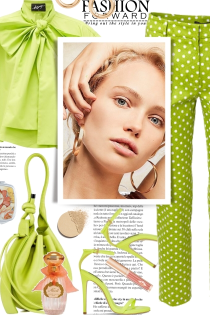 Fashion Forward in Lime