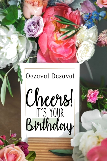 Happy Birthday to Dezaval Dezaval