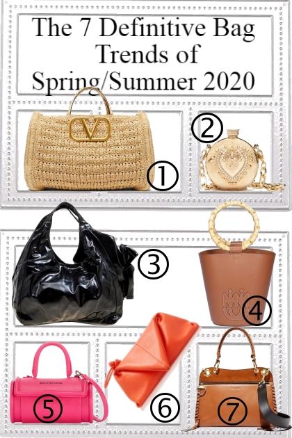 Bag Trends Of Spring/Summer 2020