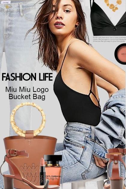 Fashion Life...The Bucket Bag