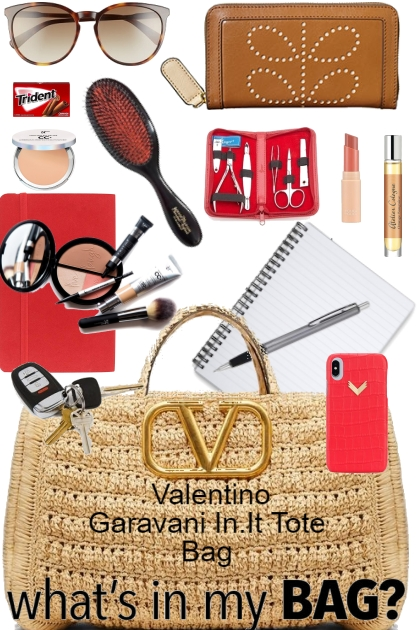 What's in My Valentino Garavani In.It Tote Bag ...