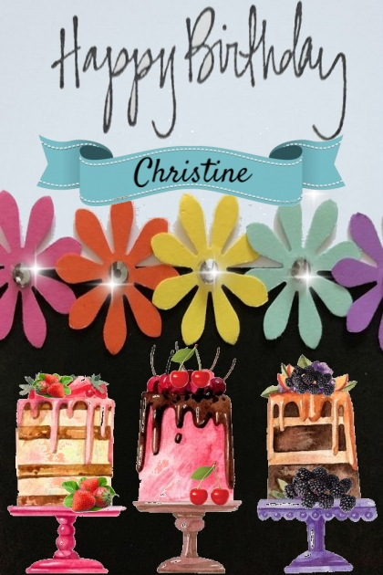 Happy Birthday Christine