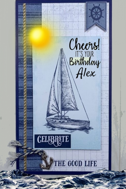Happy Birthday Alex
