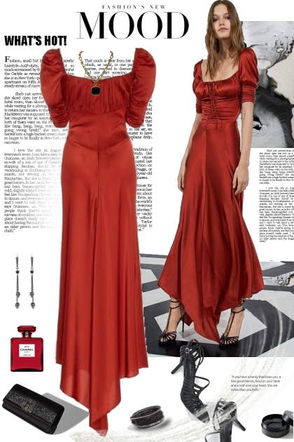 Fashions New Mood in Red