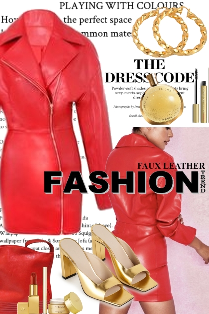Faux Leather Fashion Trend