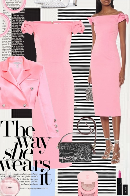 The Way She Wears It....Pink