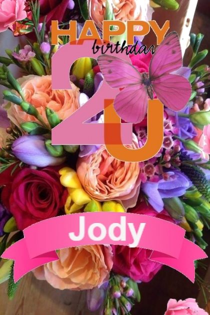 Happy Birthday Jody