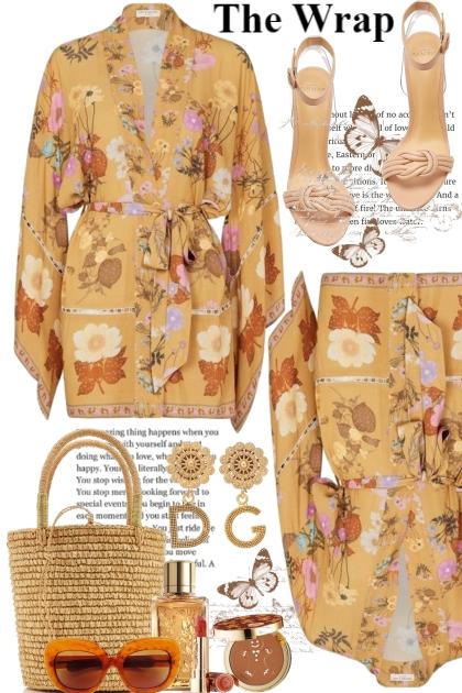 The Kimono Wrap.....