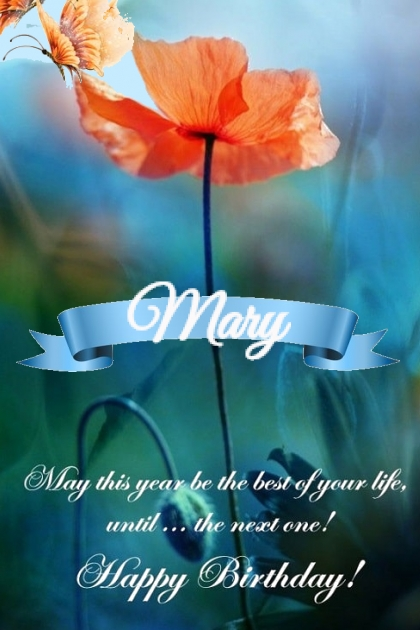 Happy Birthday Mary