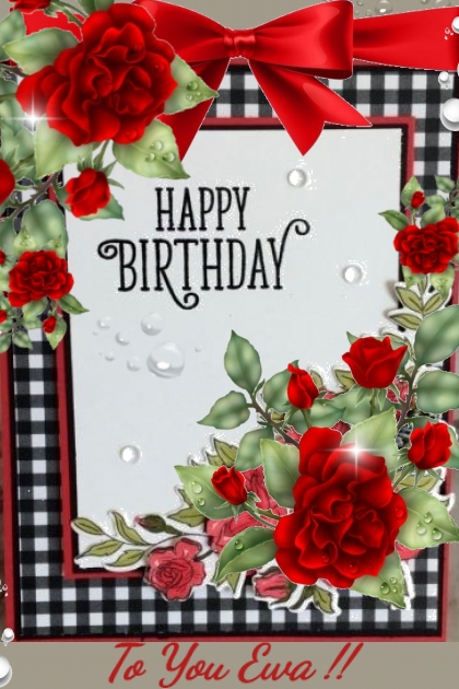 Happy Birthday Ewa !!- Fashion set
