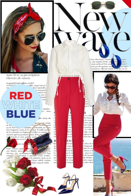 The New Wave of Red, White, and Blue