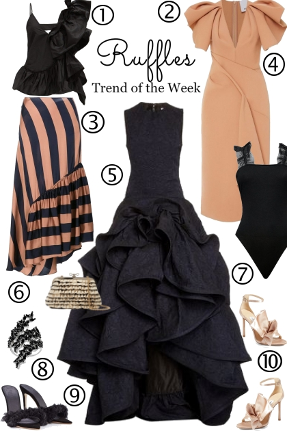 Ruffles....The Trend of The Week