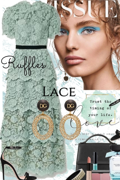 THE RUFFLES AND LACE ISSUE