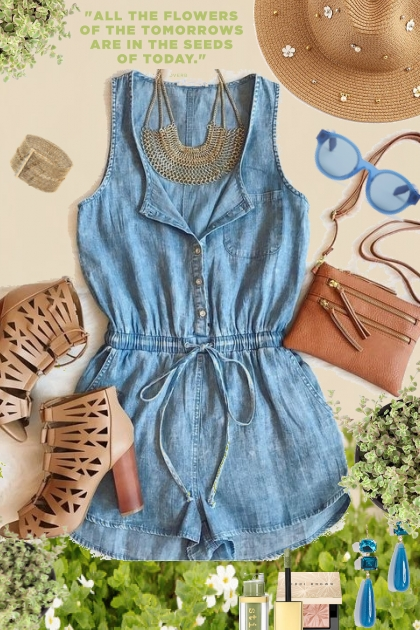 My Denim Romper