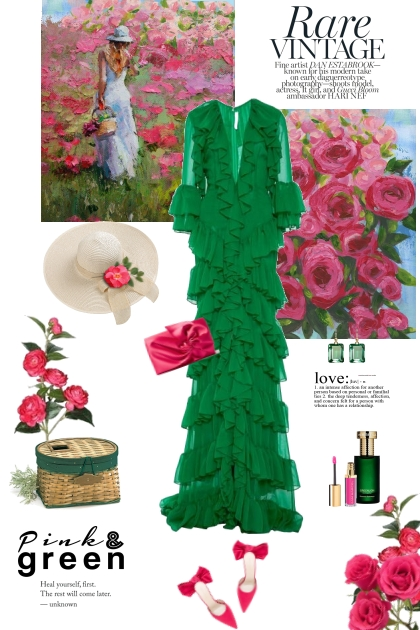 Pink and Green Trends