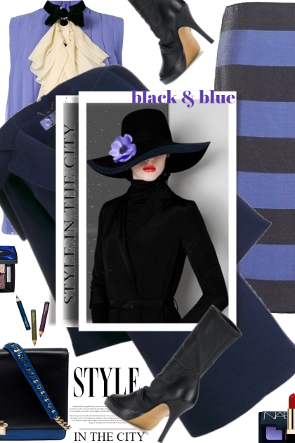 Black and Blue...Style in the City