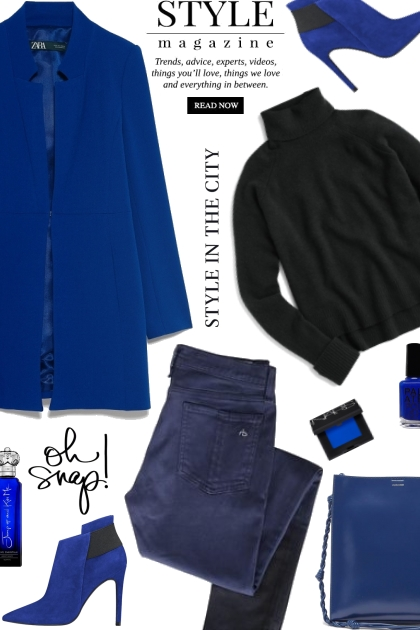 Black and Blue Style Trend