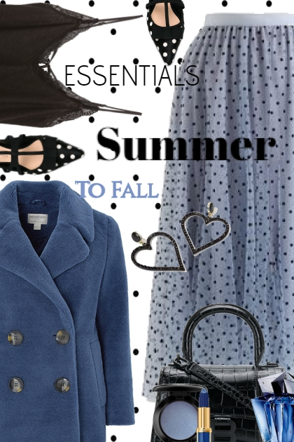 Summer To Fall in Black and Blue