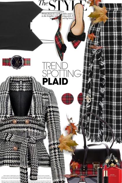 TREND SPOTTING PLAID 3- Fashion set