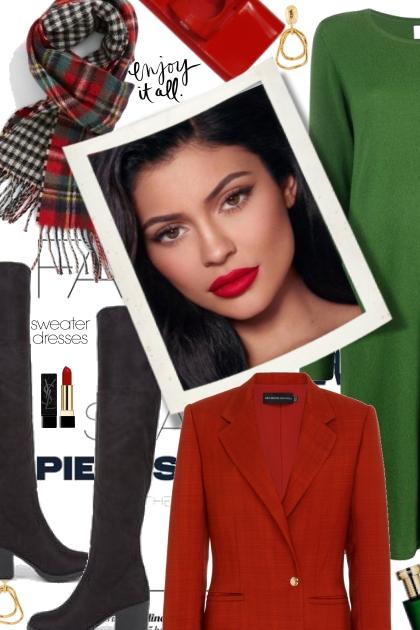 Enjoy it all....in a Sweater Dress