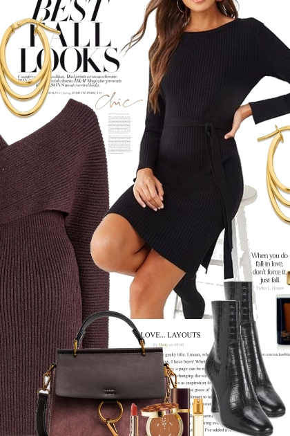 Best Fall Looks..Sweater Dresses