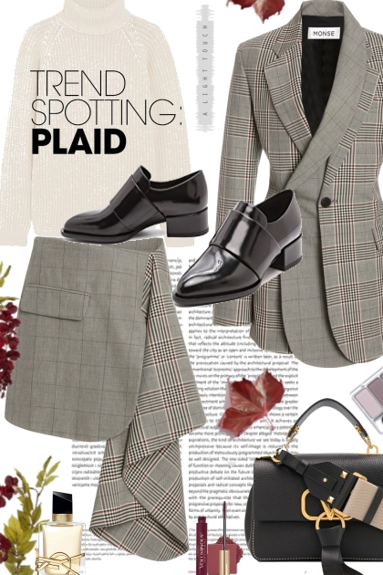 The Trend Spotting Plaid