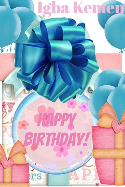 Happy Birthday Igba Kemen- Kreacja