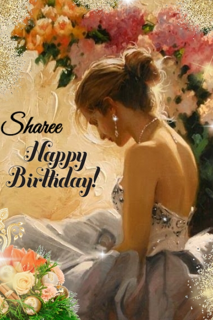 Happy Birthday Sharee- Fashion set