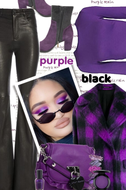 Purple and Black Trend 2