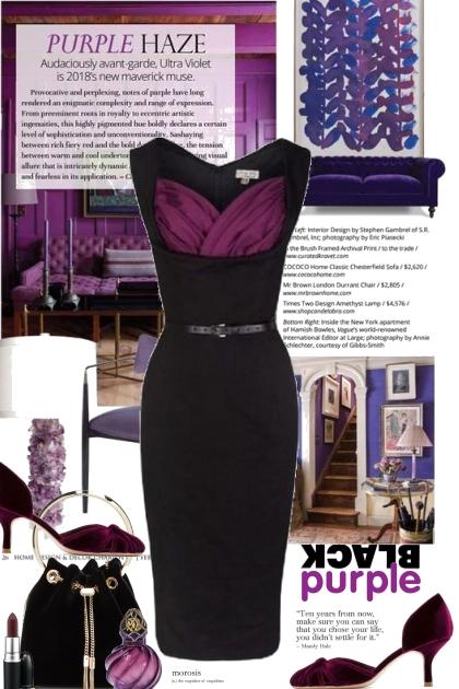 Purple Haze with Black