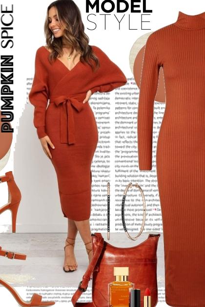 Model Style Pumpkin Spice