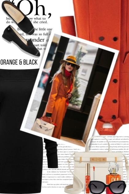 Oh....Orange and Black