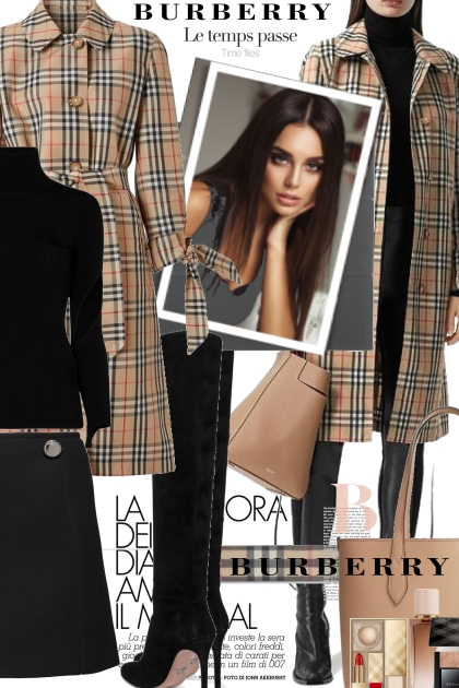 Beautiful Burberry for Fall- コーディネート