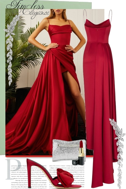 Timeless Elegance in Red