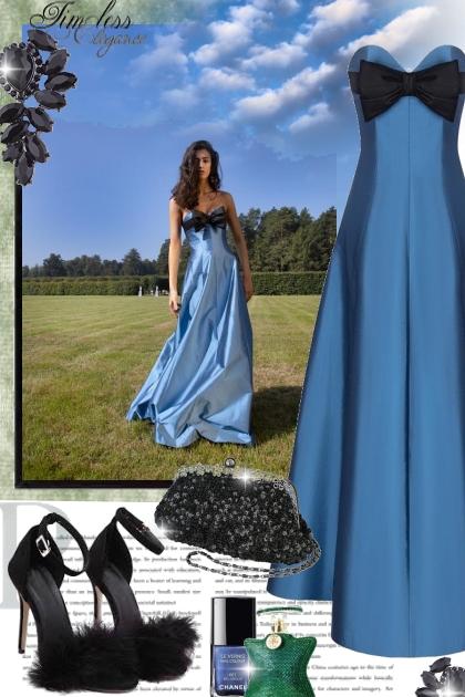 Timeless Elegance in Blue