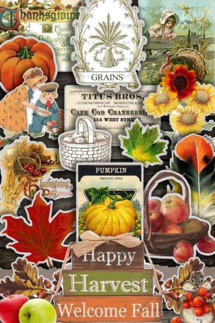 happy Harvest Welcome Fall
