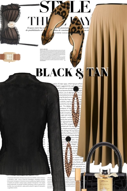 Style This Way...Black and Tan