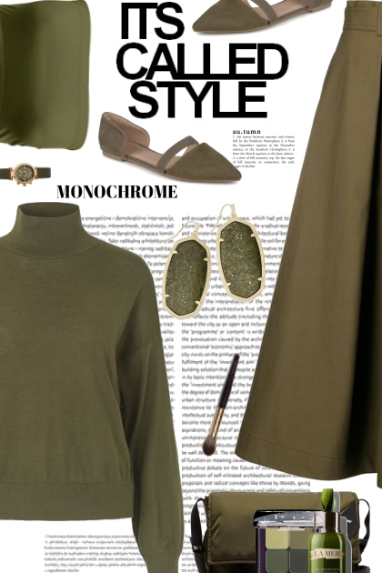 Its Called Style- Monochrome Green