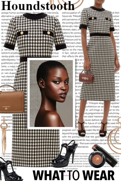 Houndstooth...What To Wear