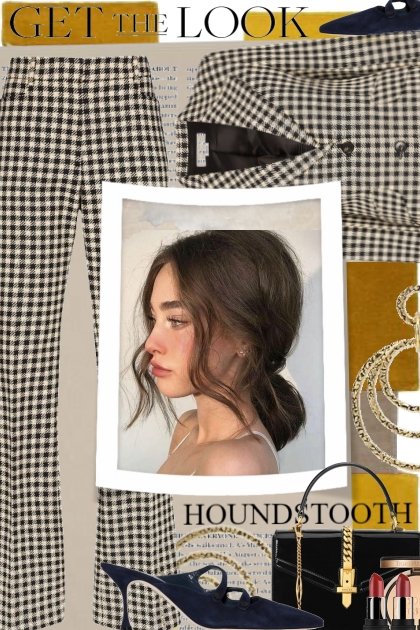 Houndstooth... Get The Look 2