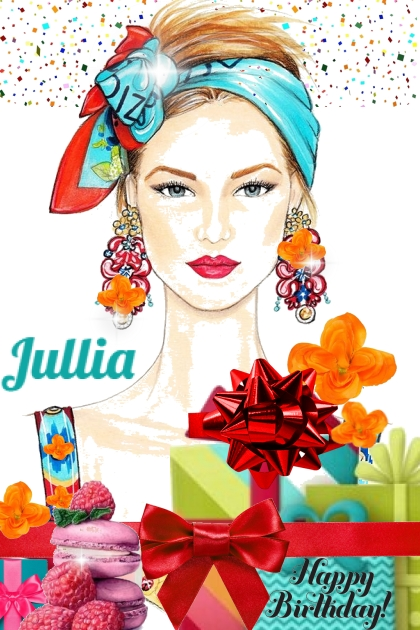 Happy Birthday Jullia- Fashion set