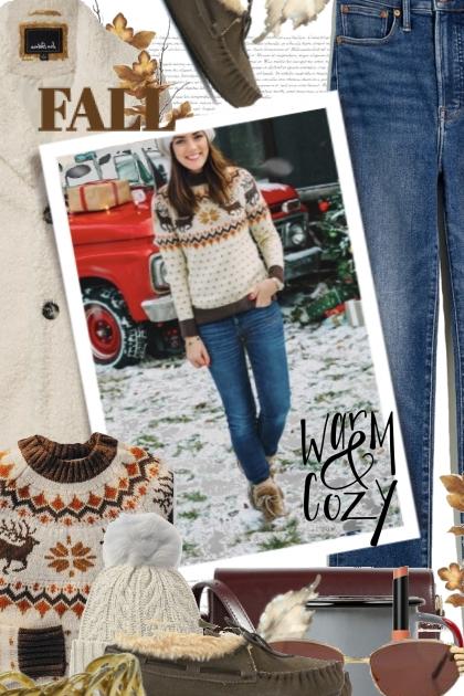 Fall Warm and Cozy- Combinazione di moda