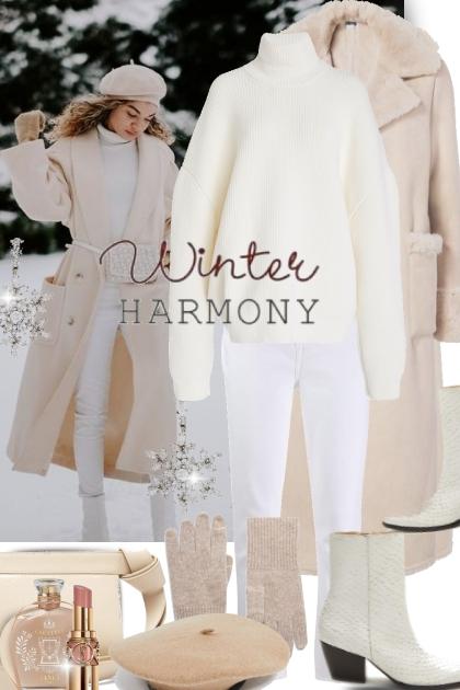 Winter Harmony in Winter White