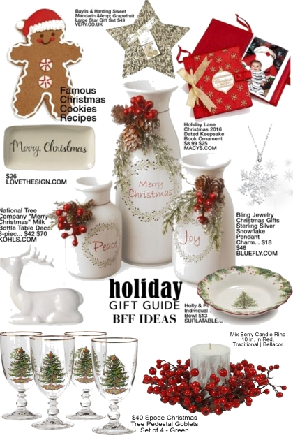 Holiday Gift Ideas for BFF