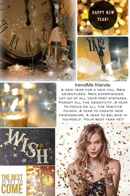 Happy New Year trendMe Friends