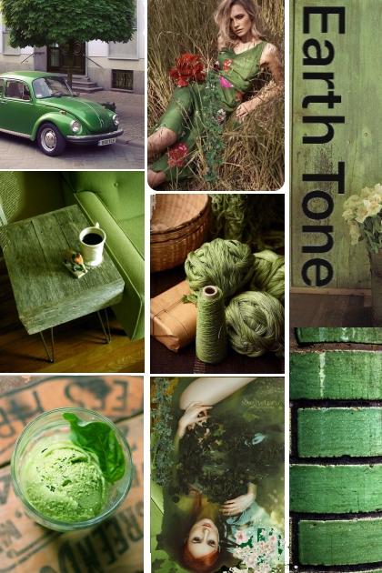 Green Earth Tones