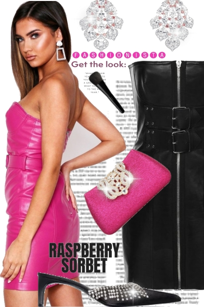 Get the Look with Rraspberry Sorbet