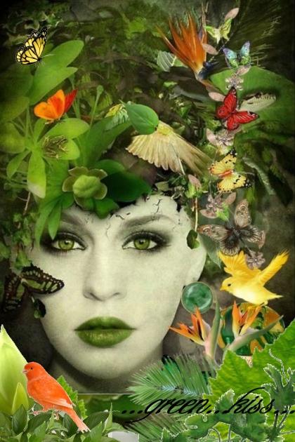 A Green Kiss...