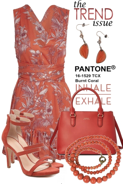 The Trend Issue...Pantone Burnt Coral